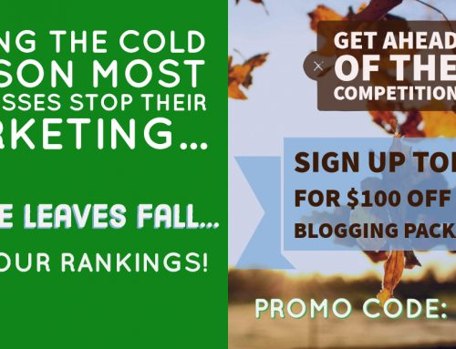 How to get the most out of your marketing when the leaves start falling
